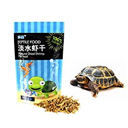 250ml/bag Shrimp Dry Feed Water Turtle Brazilian Tortoise Turtles Food Calcium Supplement Fish Tank Freshwater Dried Shrimps