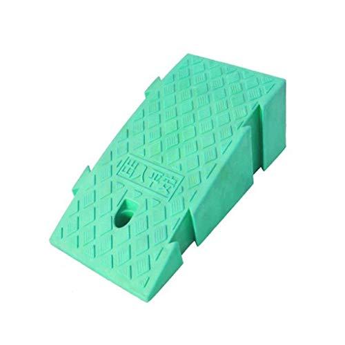 DJSMxpd Rampas Portátil Durable Plástico Rampas for Silla de Ruedas, Antideslizante Banda de Rodadura Y Carriles Vehículo Moto Asistencia de Aparcamiento (Size : 25 * 45 * 19CM)