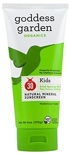 Goddess Garden Kids SPF 30 Natural Sunscreen, Lotion, 6-Ounce