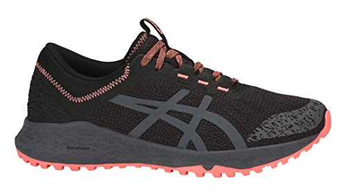ASICS Alpine Xt Zapatillas deportivas para correr para mujer,, (Negro-carbono-begonia Rosa), 42 EU