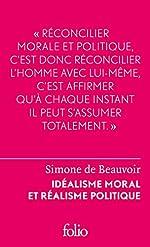 Idéalisme moral et réalisme politique de Simone de Beauvoir