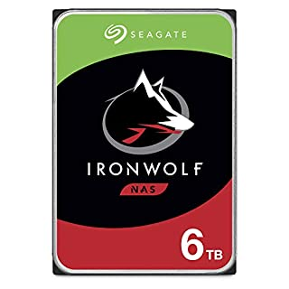 Seagate IronWolf 6TB NAS Internal Hard Drive HDD – CMR 3.5 Inch SATA 6Gb/s 5600 RPM 256MB Cache for RAID Network Attached Storage – Frustration Free Packaging (ST6000VN001) (B085Z4P89R)   Amazon price tracker / tracking, Amazon price history charts, Amazon price watches, Amazon price drop alerts