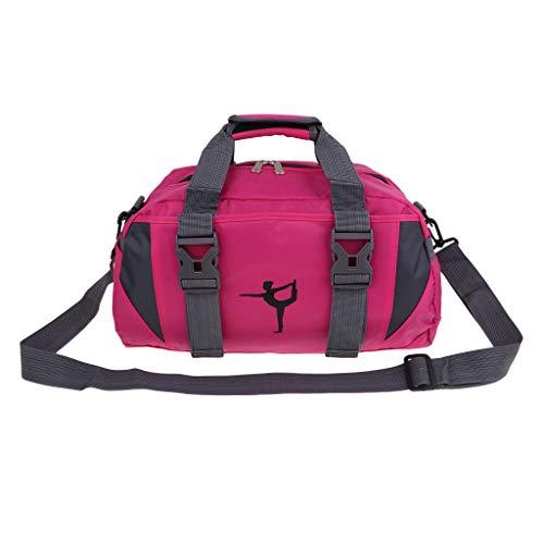 Baoblaze Sac avec Poignée Sac Marin Imperméable pour Yoga Danse De Ballet Sports Gym - Rosy, M