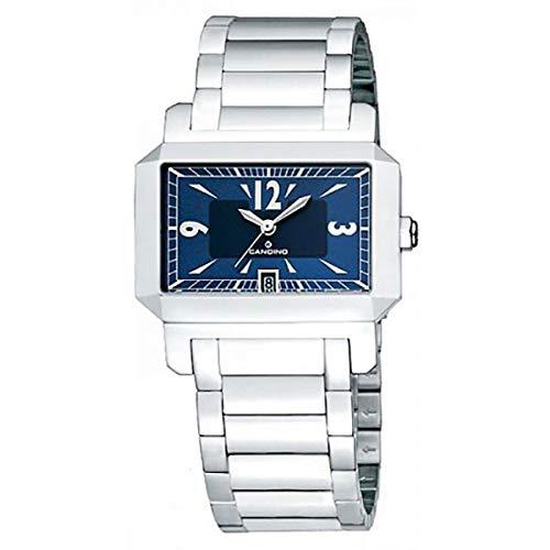 Reloj suizo Candino C4228/2 con movimiento de cuarzo, azul