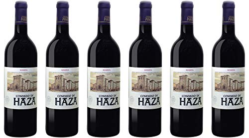 Familia Fernandez Rivera-Condado De Haza Condado de Haza Reserva Ribera del Duero 2016 Wein (6 x 0.75 l)