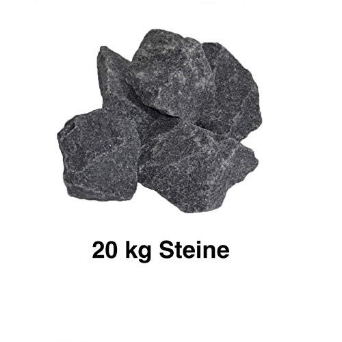 Harvia Saunasteine 20 kg Ofensteine Steine für Saunaofen Elektroofen R-990, Größe 5-10 cm