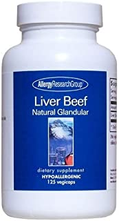 Allergy Research Group - Liver Beef 1000 Mg 125 Vcaps