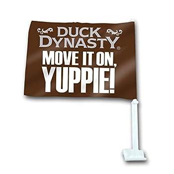 Duck Dynasty  MOVE IT ON YUPPIE!  Car Flag