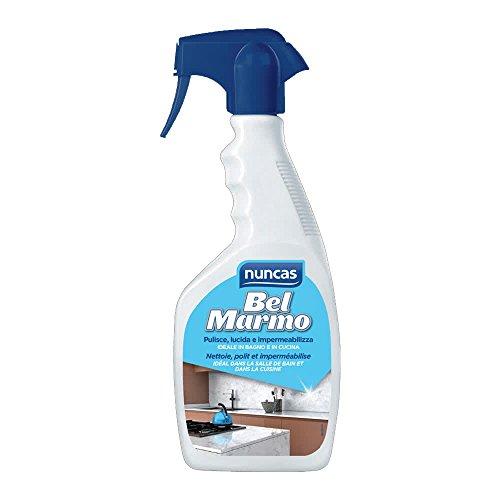 Nuncas Italia S.P.A. Bel Marmo - Detergente protettivo per piani in marm, 500 Ml