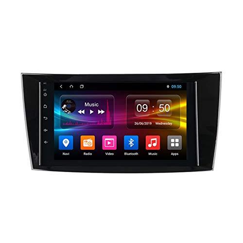 TypeBuilt Android Autoradio 9' Pantalla Tactil para Coche HD Radio De Coche Bluetooth SWC per Mercedes Benz W211/G-W463 Coche Audio FM/Am/RDS Radio Video Player Bluetooth Radio Pantalla,Px6