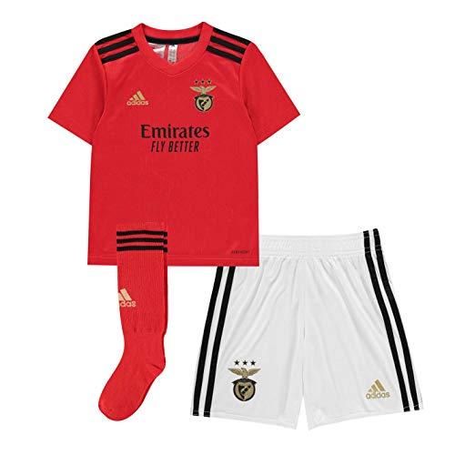 adidas SLB H Mini Football Set, Unisex niños, Benfica Red, 5-6Y