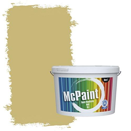 McPaint Bunte Wandfarbe matt für Innen Pesto 2,5 Liter - Weitere Grüne Farbtöne Erhältlich - Weitere Größen Verfügbar