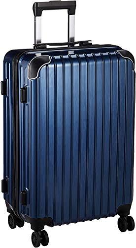 [BAGING(バギング)] キャリーケース キャリーバッグ 軽量強化 機内持ち込み スーツケース TSAロック LB006 (Large, Blue)