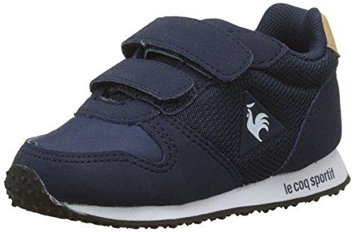 Le Coq Sportif Alpha INF Sport, Bottes & Bottines Mixte bébé, Beige (Dress Blue/Croissant Bleu), 25 EU