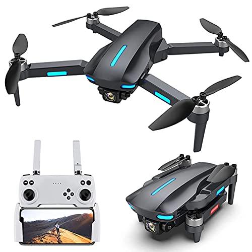 JJDSN UAV con Doppia Fotocamera 6K, Motore brushless, Fotografia Aerea con Flusso Ottico cardanico da 5000 m, Tempo di Volo di 30 Minuti, GPS UAV Semplice per Adulti/Principianti