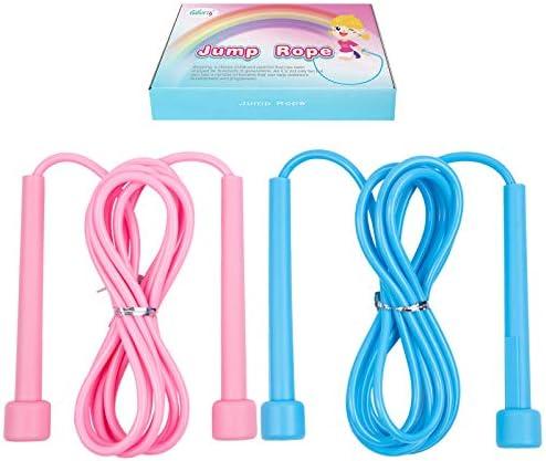 Kids Jump Ropes Adjustable Lightweight Skipping Rope for Boys Girls Preschooler School Aged product image