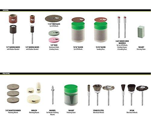 سعر ZFE 217 قطعة مجموعة أدوات الروتاري مجموعة