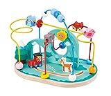 Lelin Legno per Bambini Filo Foresta Animali Perline Telaio Roller Coaster Labirinto Giocattolo, Colore, 31615