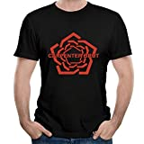 WEIQIQQ Hombre Carpenter Brut Logo Gift Short Sleeved Camiseta/T-Shirt