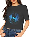 Water Squirtle Women Crop Top T Shirts Casual Tee