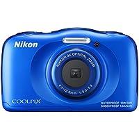 """Nikon COOLPIX W100 - Cámara digital (13,2 MP, 4160 x 3120 Pixeles, 1/3.1"""", CMOS, 3x), Azul"""
