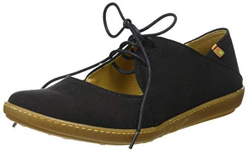 El Naturalista Coral Zapatos Planos, Mujer, Negro (Black), 41 EU