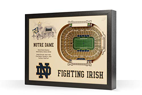 NCAA Stadium Wall Art (Many Teams)