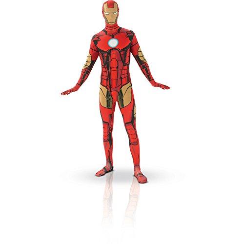 Aptafêtes - CS927537/L - Déguisement - Seconde Peau Iron Man - Taille L