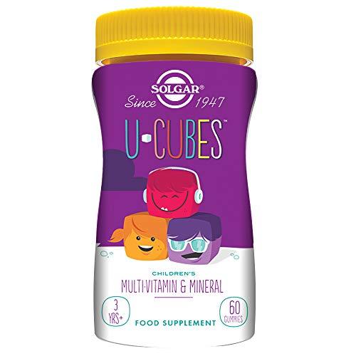 Solgar U-Cubes Vitaminas y Minerales - 60 Unidades