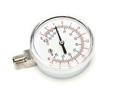 Groen Z084208 Compound Pressure Gauge Dual