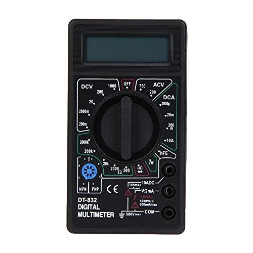 rofessional LCD Electric Voltmeter Ammeter Ohm Tester Meter Digital Multimeter DT-832 -All U Need
