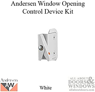Andersen Double-Hung Window Opening Control Device Kit in White Color