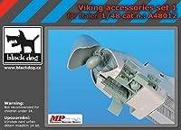 ブラックドッグ A48012 1/48 Viking アクセサリーセット N°1 (イタレリ用)
