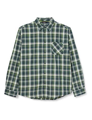 CMP T-Shirt à Manches Longues avec Technologie Dry Function pour Homme L Muschio-Jungle