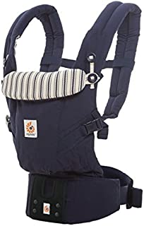 ERGO Baby 抱っこひも おんぶ可 [日本正規品保証付] (日本限定ベビーウエストベルト付) (洗濯機で洗える) 装着簡単 ベビーキャリア アダプト ADAPT アドミラルブルー 0か月~ CREGBCAPEADKBL