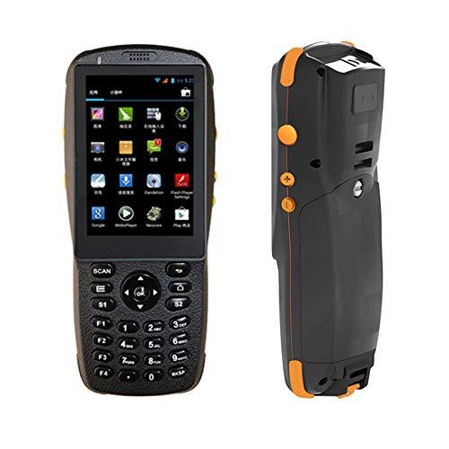 LSXX Terminal Portable, Scanner WiFi Android NFC QR Barcode Reader Scanner Honeywell Barcode Convient pour la bibliothèque/Restauration/inventaire de l'entrepôt