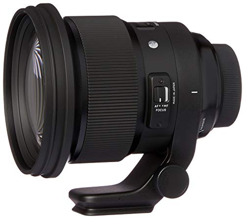 Sigma 259955 Obiettivo 105 mm-F/1.4-AF A DG HSM, Attacco Nikon, Nero