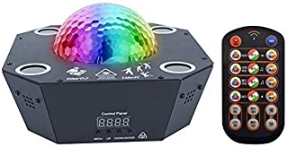 ZZY Party Light Projector DJ Lights Stage Lighting Spotlight 120 Pattern Magic Ball Colorful Lights with Home Show Bar Club Birthday