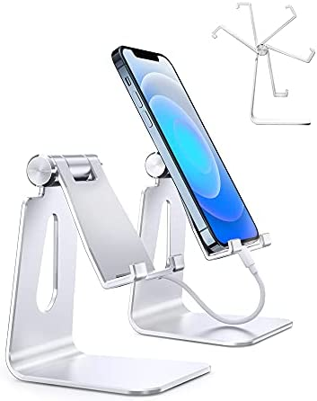 【2 Pack】 Cell Phone Stand Adjustable Cell...