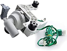 Beaquicy DC97-17366A Washer Drain Pump (GENUINE Original Part) - Replacement for AP6034471 PS11766601 Kenmore Whirlpool Washing Machine
