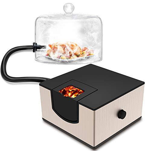 Kaven Smoking Gun Handheld Smoker Food Smoker for Meat, Veggies, BBQ, Sous Vide, Fruit, Cocktail,Cheese(Gold)