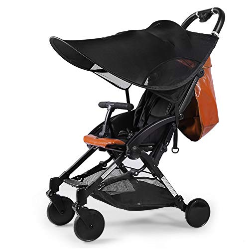 FAMKIT Cochecito de bebé Sun Shade protección solar sombra para cochecitos asientos de coche, cochecito de bebé, cochecito de bebé, protección contra rayos UV