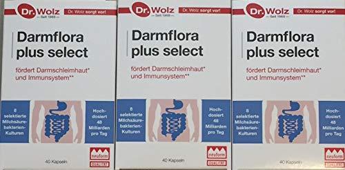 Dr. Wolz Darmflora plus select 3 x 40 Kapseln (Dreierpack)