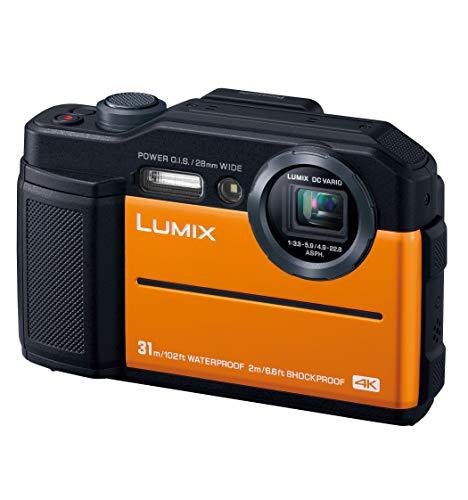 Panasonic compact digital Camera Lumix FT7 Waterproof 4K Video corresponding orange DC-FT7-D