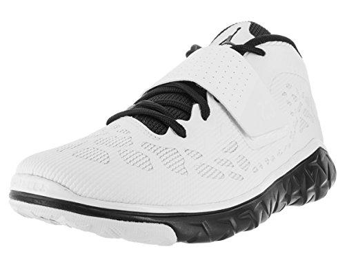 Nike Herren Jordan Flight Flex Trainer 2 Hallenschuhe, Schwarz/Weiß (Schwarz/Weiß-Schwarz), 45 EU