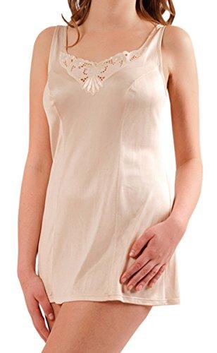 Graziella Hemdröckchen aus 100% ENKA Viskose Größe 60 Puder Unterrock Unterkleid