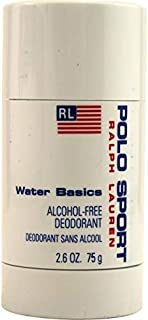 Râlph Laûren Pôlo Blue Sport Deodorant Stick For Men Alcohol Free 2.6 OZ./75 g