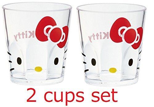 Skater [Lot de 2 Tasses] Sanrio Hello Kitty Acrylique Tasse KSA4 280ml
