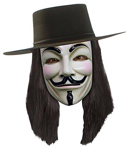 DC Perruque - V pour Vendetta - sous LICENTE Officielle - Neuf