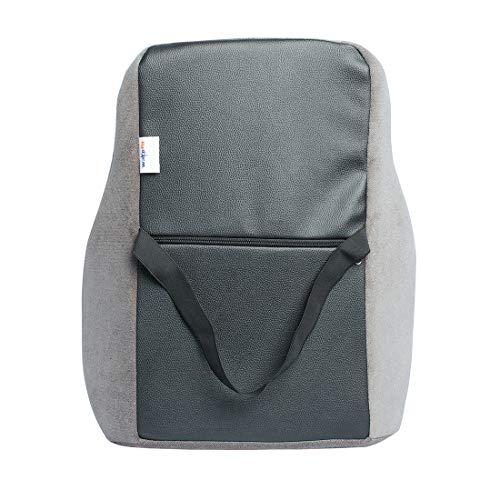 Wakefit Memory Foam Back Support Chair Cushion (41 x 45 x 12 cms)